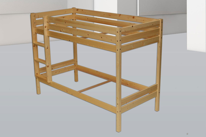 Etagenbett Absturzsicherung : Etagenbett maya hochbett aus fichtenholz