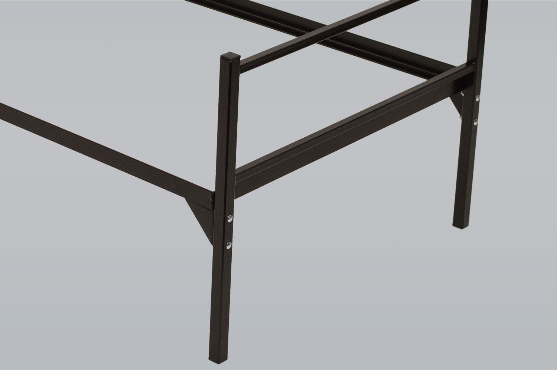 Erfreut Stahlbettrahmen Königin Bilder - Rahmen Ideen ...
