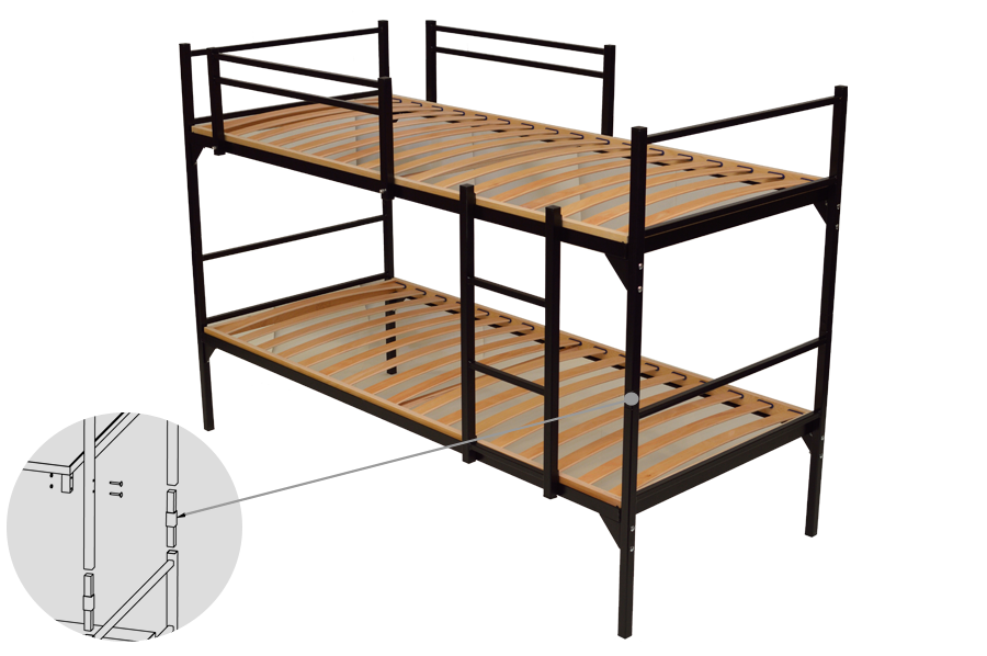 stahl bett perfect so gelingt der industrial chic im angesagten bett industrial with stahl bett. Black Bedroom Furniture Sets. Home Design Ideas
